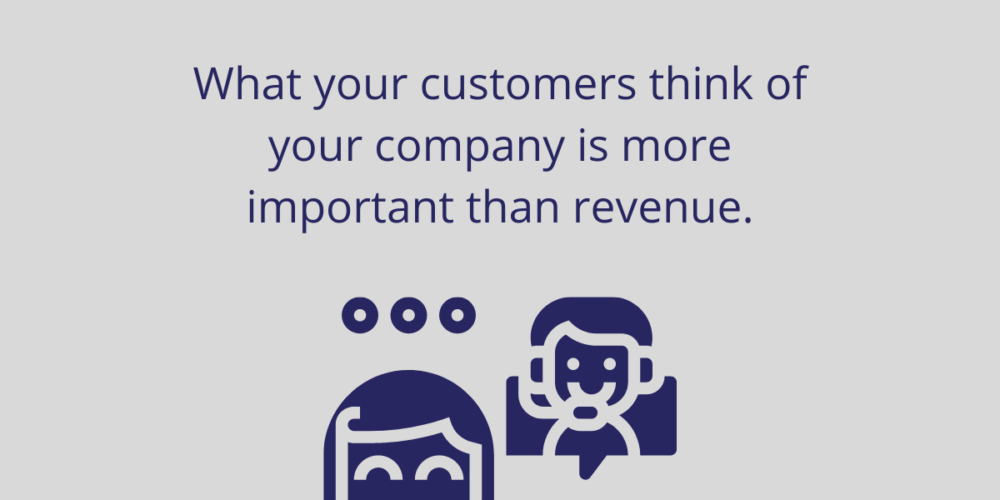What Your Customers Think Of Your Company Is More Important Than Revenue - Vertex Techno Solutions (B) Pvt Ltd